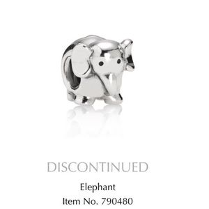 Pandora Jewelry - Retired Elephant Charm